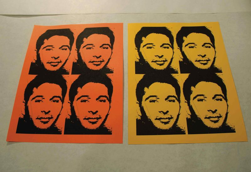 WARHOL ART STEP 1