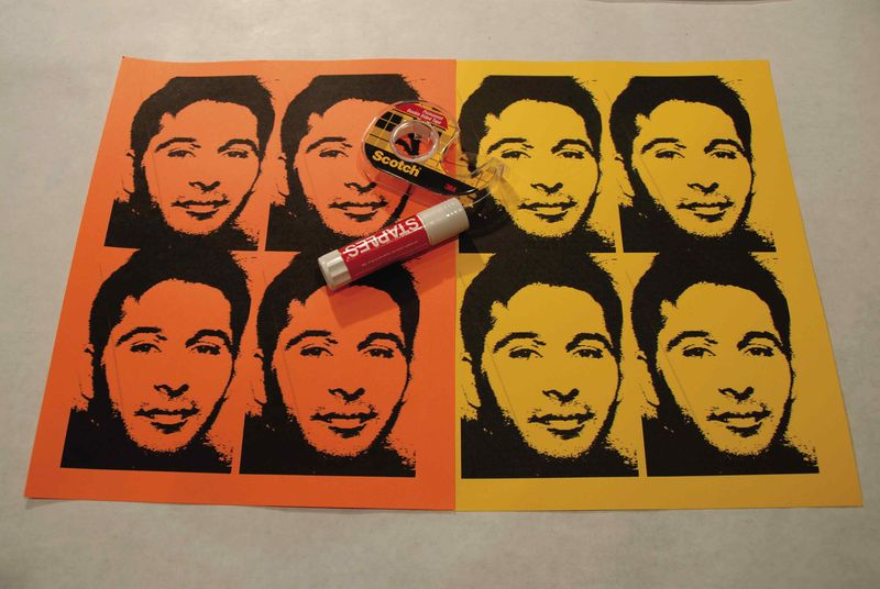 WARHOL ART STEP 2