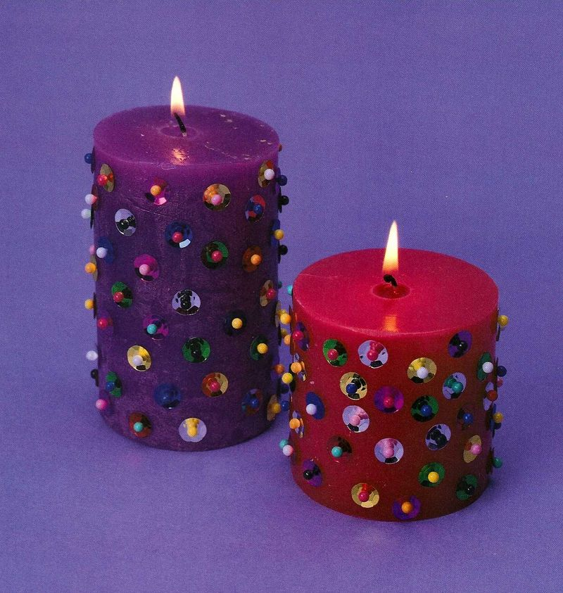 Sequin Candles